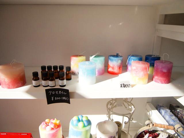 登別温泉街がオシャレに!(2) 体験もできるキャンドル店「M's Candle house」