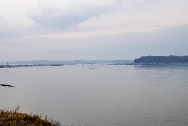 厚岸市街・厚岸湖・厚岸湾を一望!穴場ビュースポット「お供山展望台」