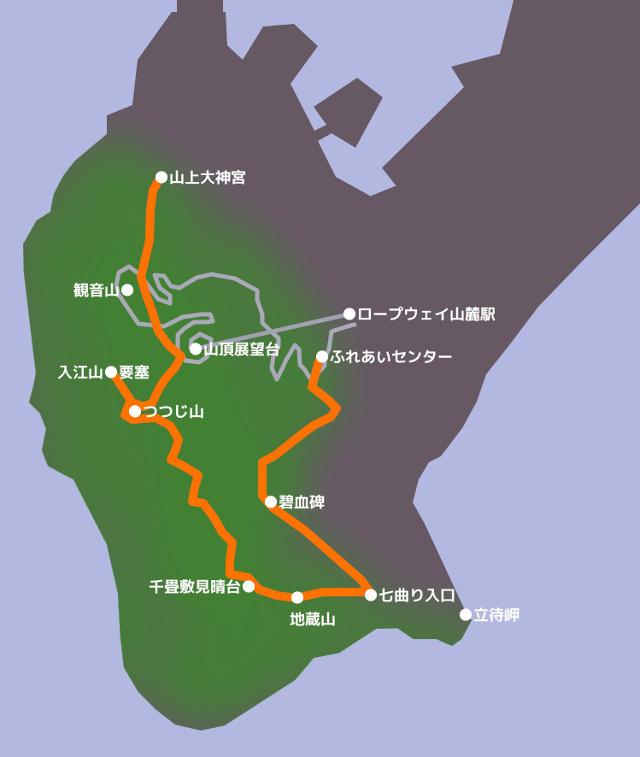 観光しながら体力鍛錬も兼ねる!一番ハードなコースで函館山を登山!