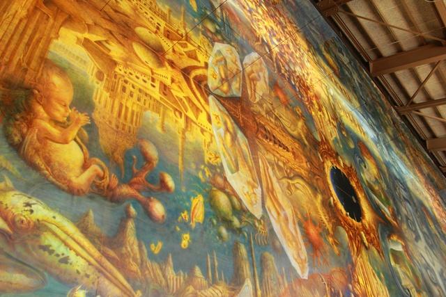 絵の中に入れる『世界最大の油彩画』は圧巻!太陽の森ディマシオ美術館