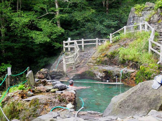 『北の国から』にも登場! 大自然の天然露天風呂「吹上露天の湯」