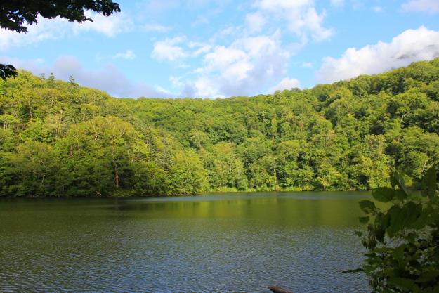 羊蹄山山麓には「半月湖」という美しい湖がある? 20分かけて行ってみた