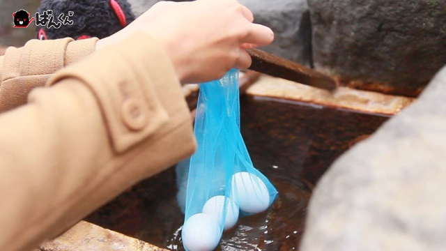 20分で完成!定山渓温泉の源泉でカンタン「温泉卵」づくりに挑戦!