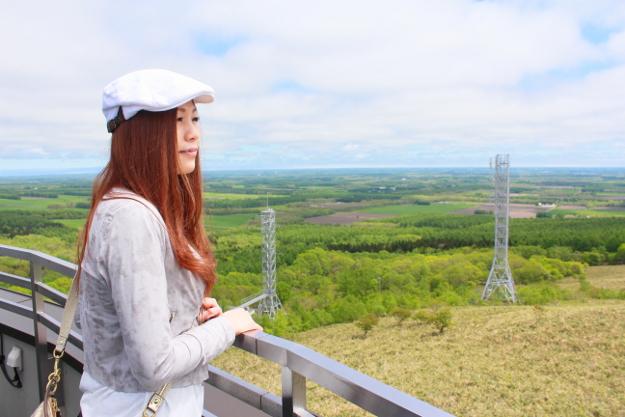 ミツバチ族のメッカ! 地球がまる~く見える絶景ポイント「開陽台展望台」