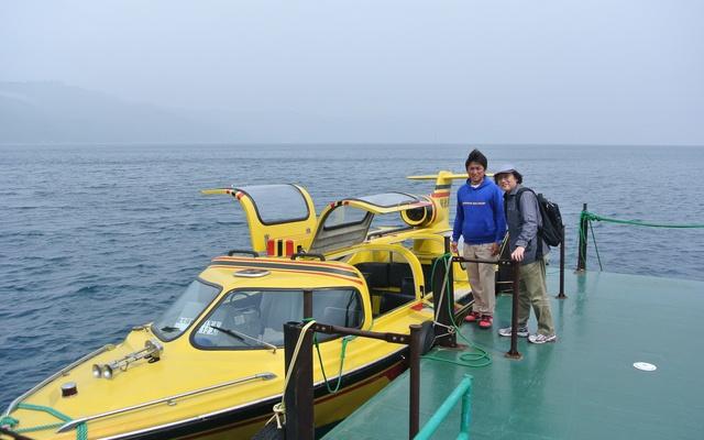 洞爺湖の観音島&弁天島はどうなってる?モーターボートで上陸!