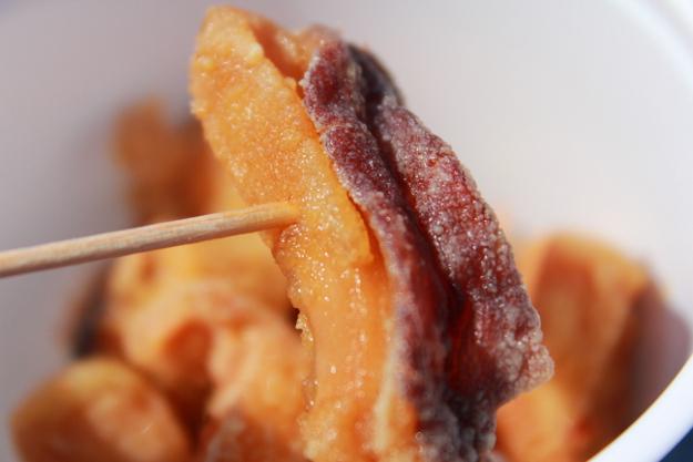 終着・増毛駅で食べる「タコザンギ」が柔らかくて美味しい