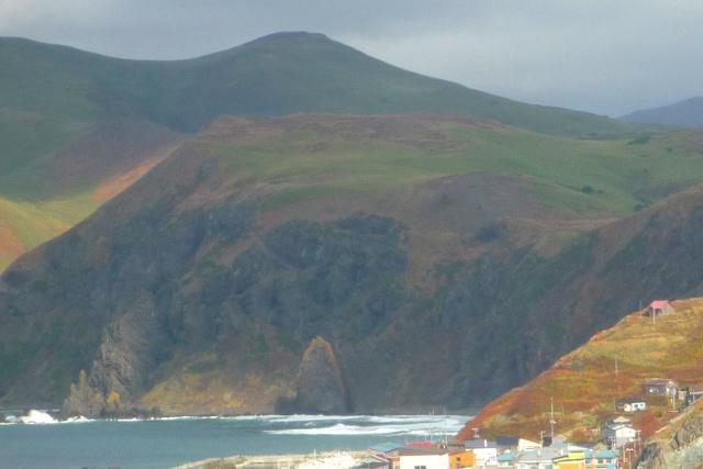 礼文島には桃の形をした巨岩「桃岩」がある!桃台猫台展望台へ!