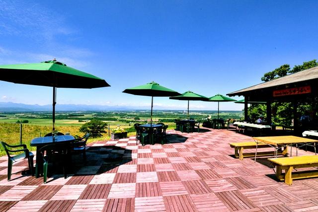 十勝平野の景色とコーヒーが無料!?「シーニックカフェちゅうるい」