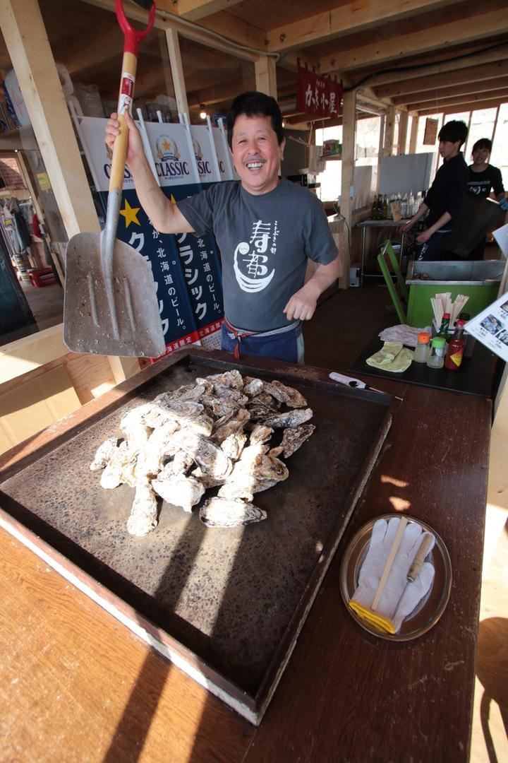牡蠣が食べ放題?! 寿都町にスッツ・オイスター・ビレッジがオープン!