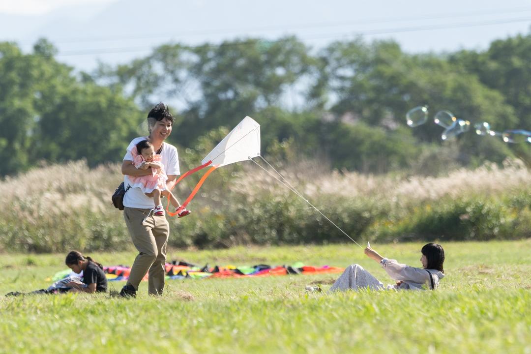 30メートルの凧が空を泳ぐ!石狩本町カイトフェスティバル初開催!
