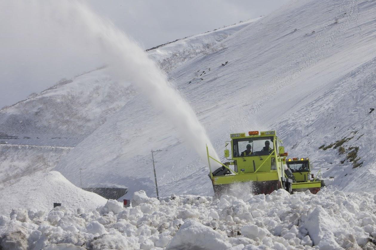網走道路事務所・杉本公一さんに聞く 知床横断道路の除雪の方法とは?