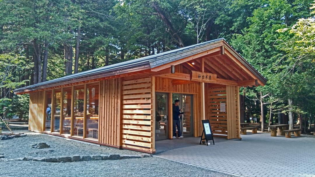 北海道神宮に新名所「神宮茶屋」誕生!おすすめはオリジナル「福かしわ」