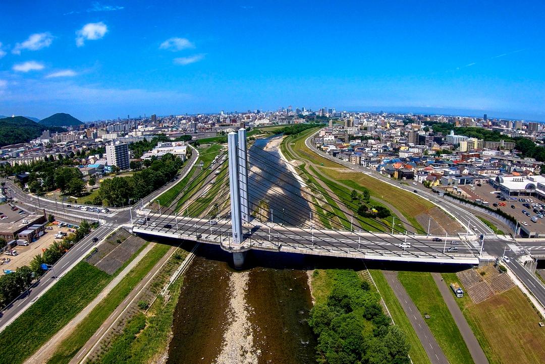 どの橋がお好き?ミュンヘン大橋から上水道用橋まで豊平川23橋まとめ