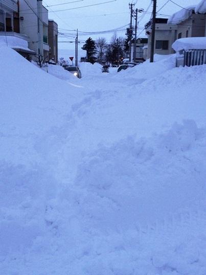 道北で猛吹雪、旭川のデパート臨時休業、札幌~旭川間交通網寸断