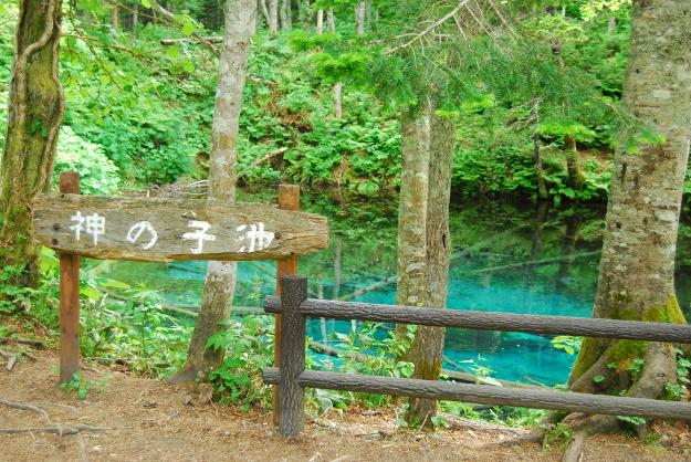 ただいま人気上昇中! 透明感あるブルーが美しい「神の子池」