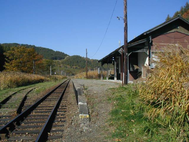旧ふるさと銀河線・分線~川上間が撤去中!? 駅舎は既に撤去済みだった