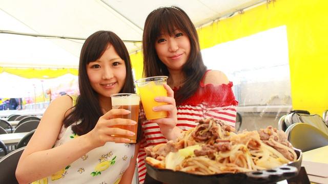 ノルベサ屋上ビアガーデン+観覧車で北海道の短い夏を楽しもう!