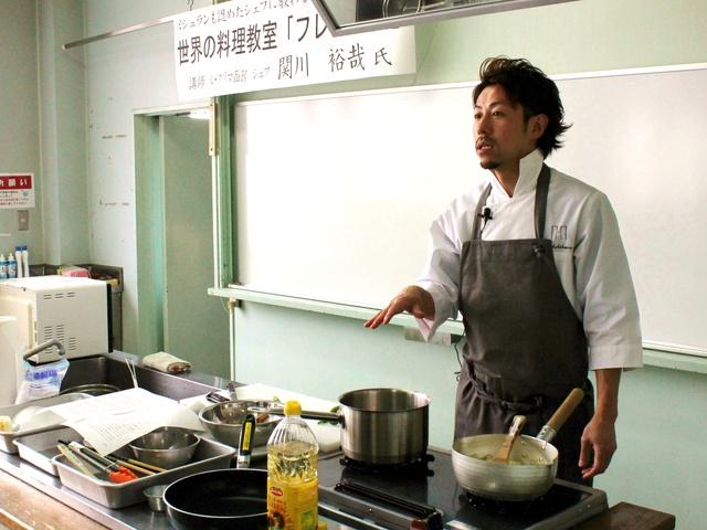 いま函館で人気殺到!「ル・クリマ函館」関川シェフの料理講座に潜入