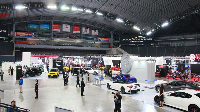 過去最多44ブランドが集結!三度目の「札幌モーターショー2016」開幕