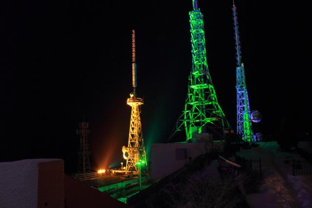 連続点灯10000日達成!室蘭・測量山ライトアップが節目迎える