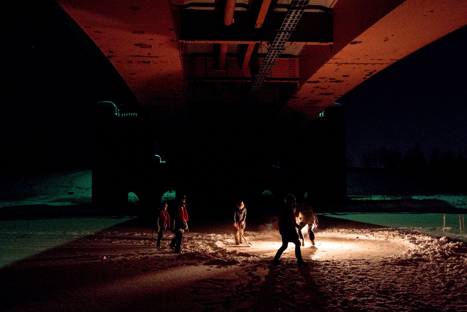 雪倉庫や凍ったモエレ沼がアートの舞台に!? 創作活動の過程を公開!