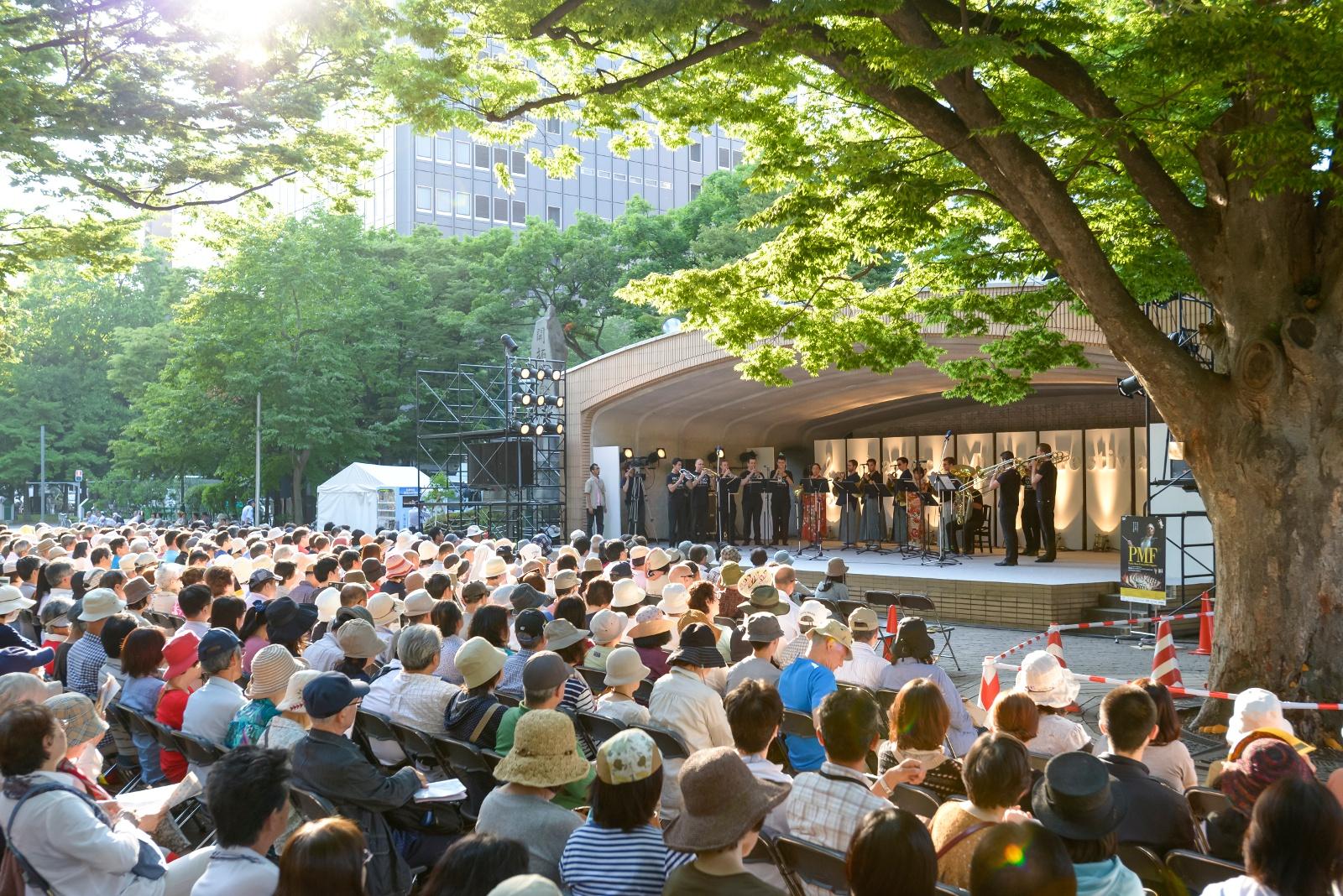 PMFは誰でも気軽に楽しめます!札幌で行われる無料コンサートをご紹介!