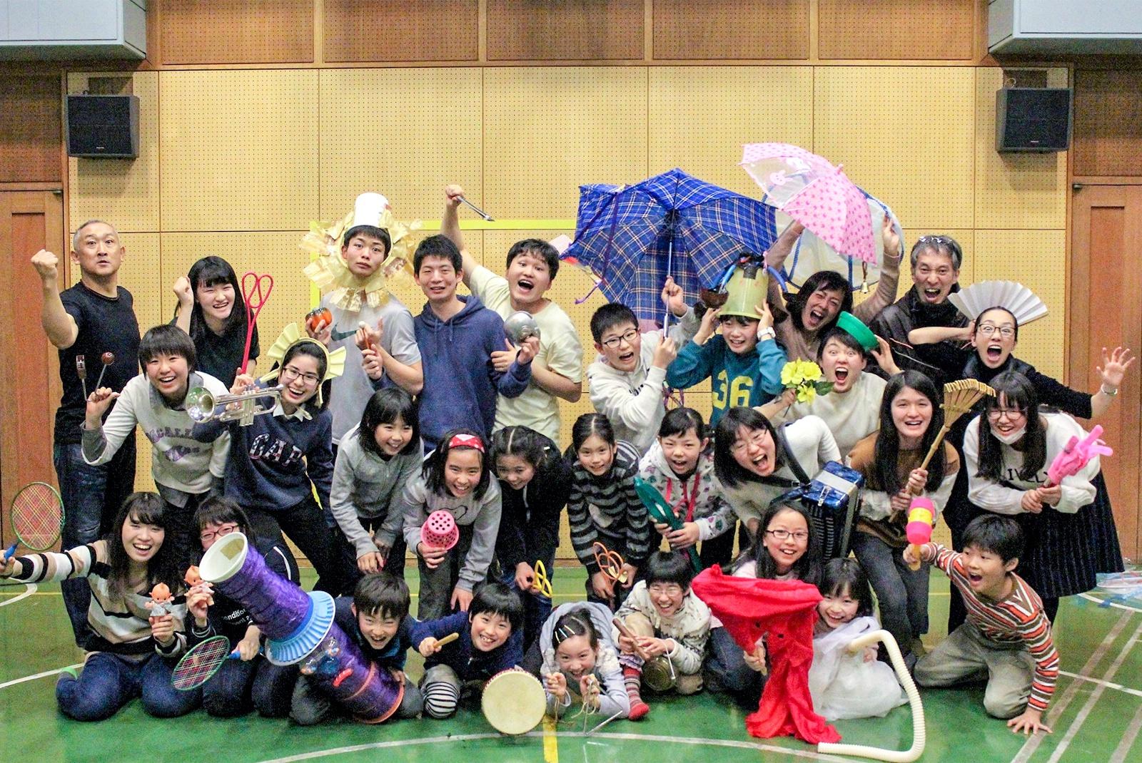 中島公園の歴史に触れる!妖怪に扮したパフォーマンス 中島公園百物語