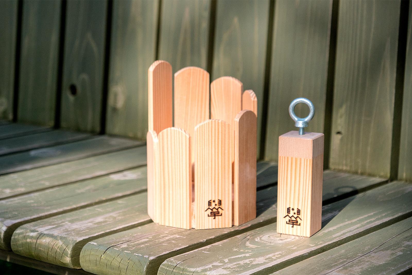 間伐材で楽器づくりに挑戦!大雪山大学「森の音いろワークショップ」
