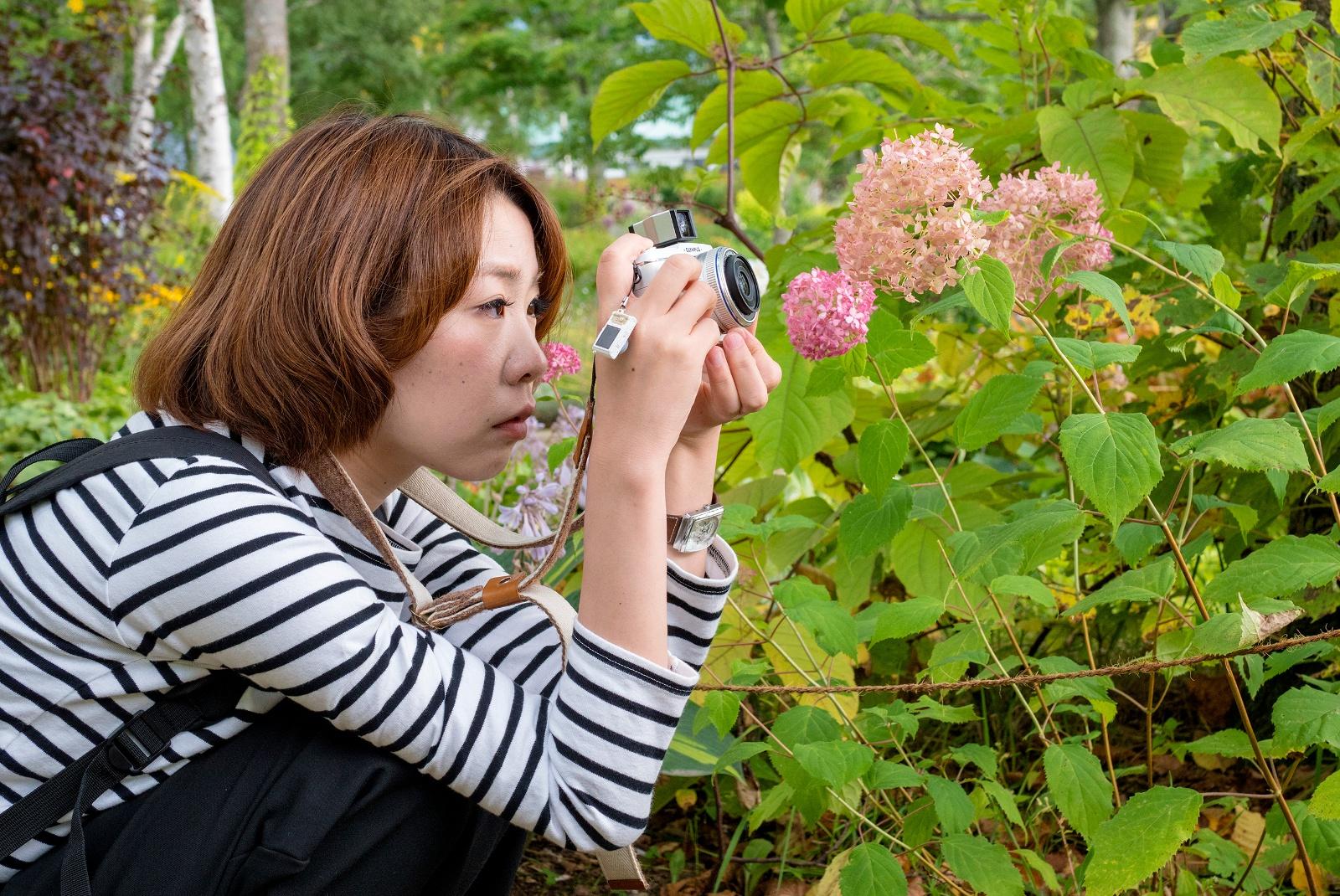 インスタ映えする撮り方とは?大雪山大学で「共感フォト講座」開催!