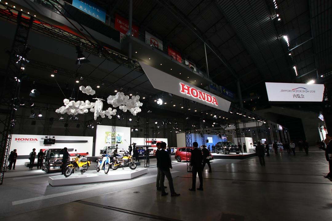 189台が札幌ドームに集結!4回目の「札幌モーターショー2018」開幕