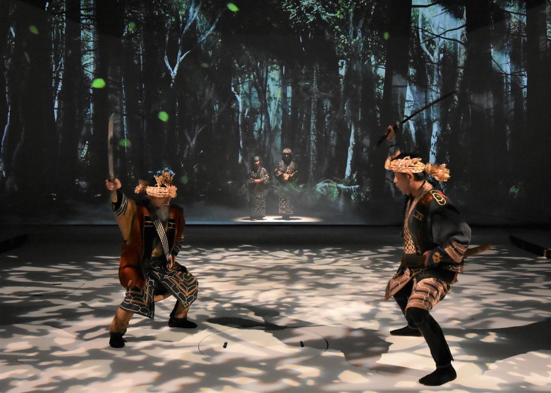 デジタルアートとアイヌ古式舞踊が融合!阿寒ユーカラ「ロストカムイ」上演