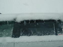 冬の車の管理法!!