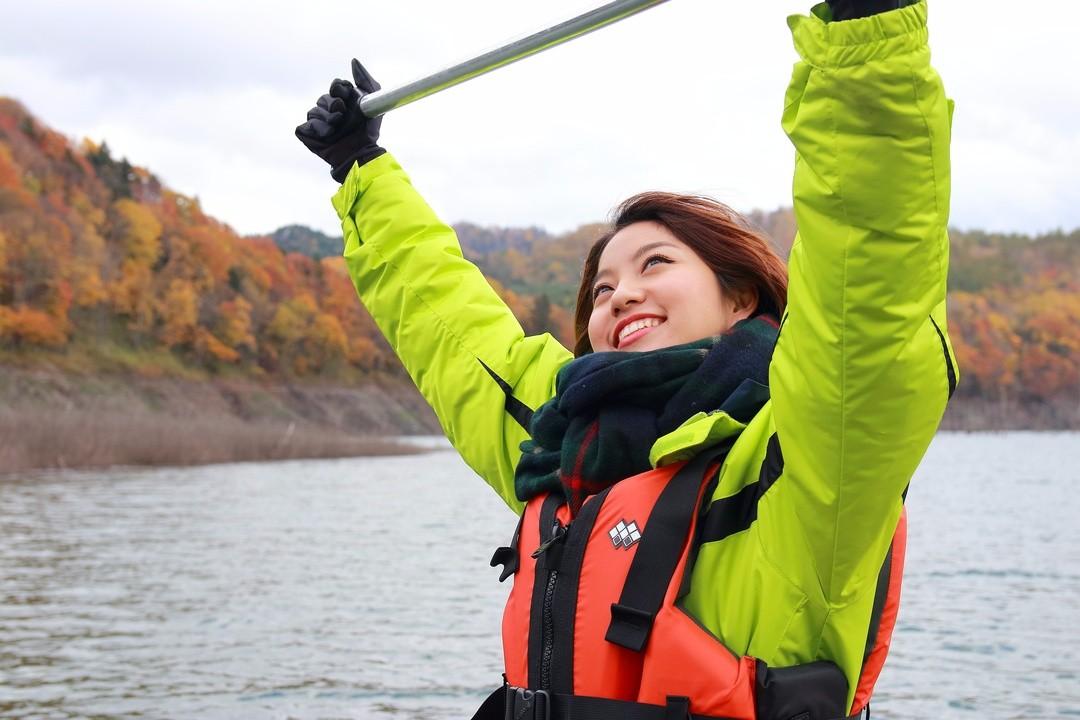 カヌー体験からクレイアニメ制作まで!Rihwaが行く秋の夕張巡り