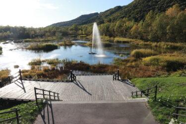 虹が見られるかも? 東川町の地下水を利用した自噴型「七色の噴水」