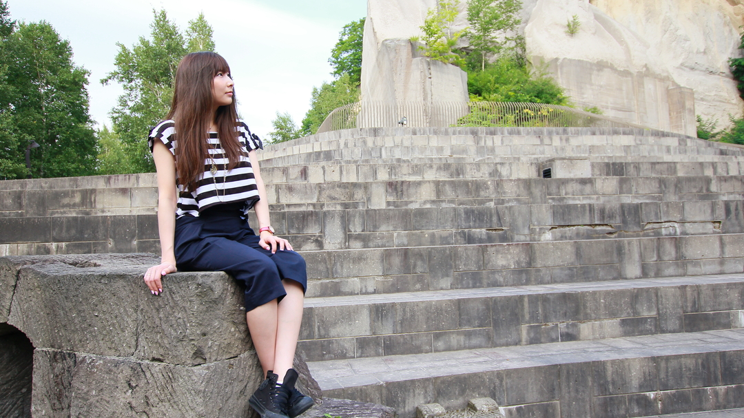 古代ローマ遺跡!? ラピュタ!? 札幌市南区の採石場跡を再生した「石山緑地」