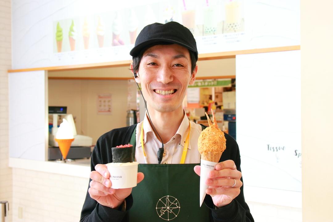 寿司とコロッケがソフトクリームに!「MIL PRESSO」が期間限定で発売