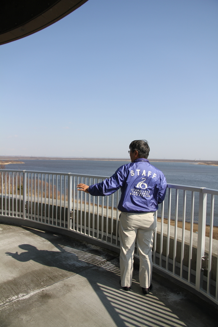 ウトナイ湖を地上約17mから眺望!道の駅に新展望台がオープン