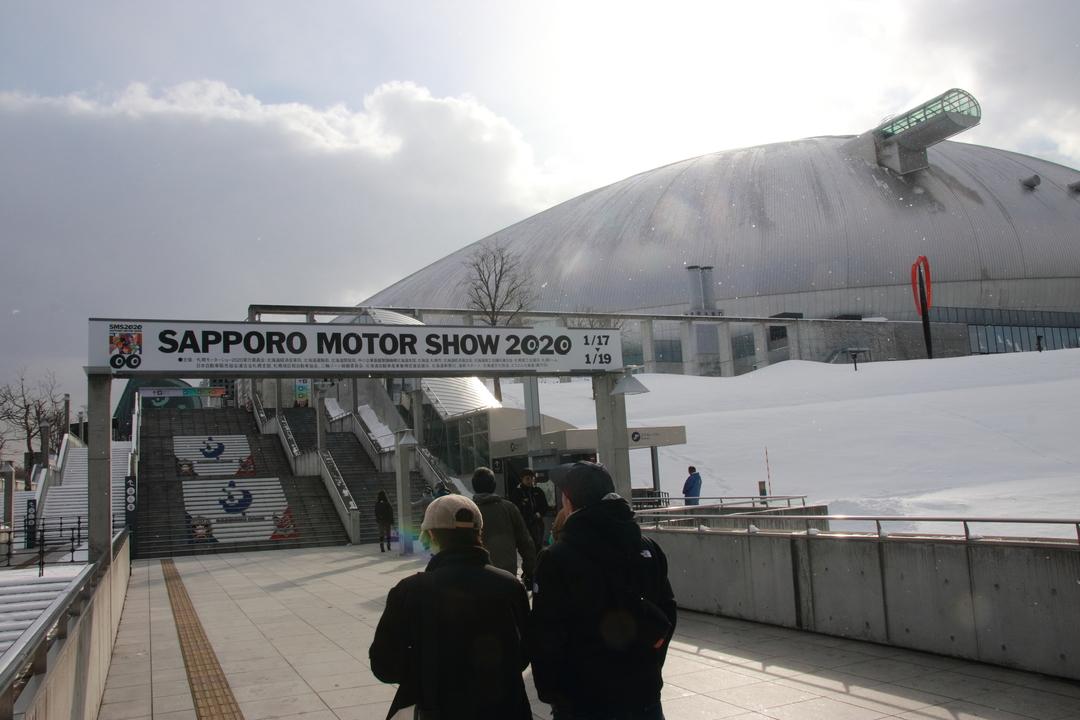 札幌モーターショー2020開幕!34ブランド165台が札幌ドームに集結!