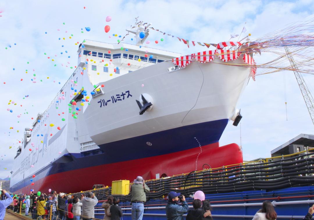 津軽海峡フェリー新造船「ブルールミナス」6/9デビュー!全4隻統一へ