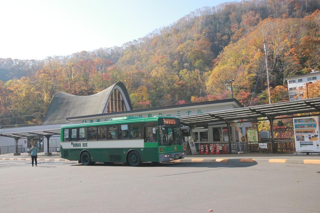 路線バスで登別・室蘭 女子二人旅!温泉・やきとり・スイーツを堪能
