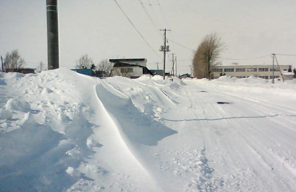 道路状態~吹きだまり・地吹雪編!!