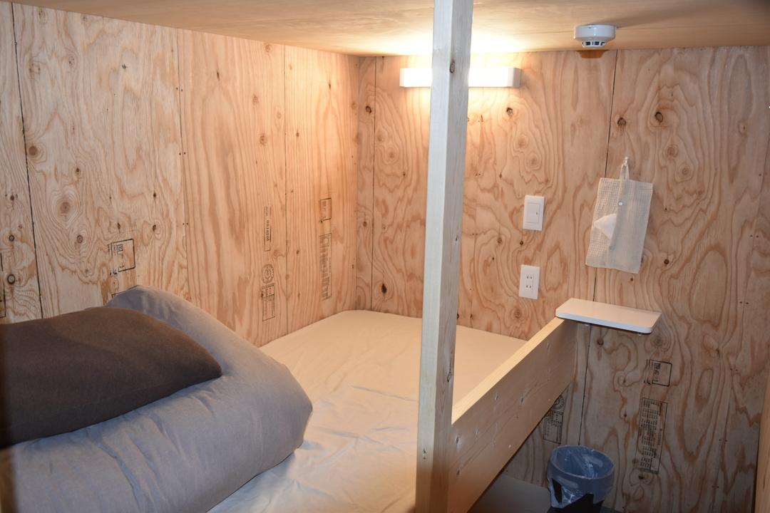 新しいコンセプトのドミトリー「ちょい寝ホテル」が手稲区にオープン