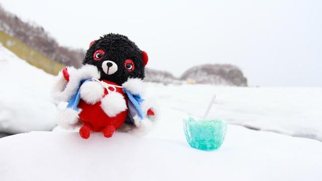 流氷でおいしいかき氷はできるのか?「流氷かき氷」にチャレンジ!