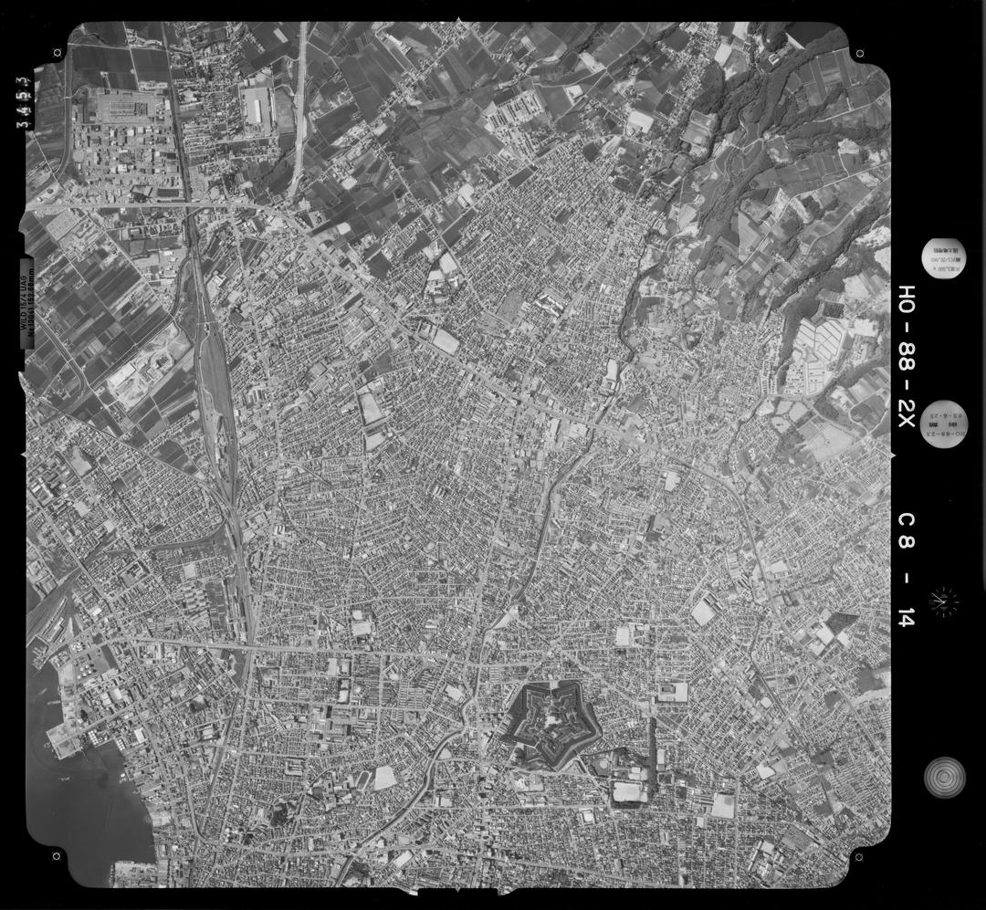 道内唯一!わずか2年で消滅した「亀田市」が函館市の隣にあった!