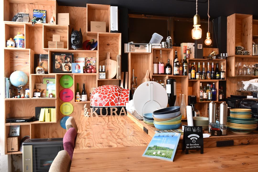 栗山町のショールームに―地域密着型カフェバル「cafe&barくりとくら」誕生