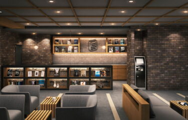 書店とカフェを併設!「ランプライトブックスホテル札幌」が狸小路に誕生
