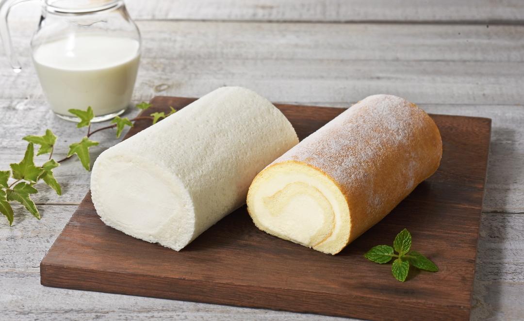 石屋製菓が江別市の農場の生乳を使用し「北海道しあわせロール」発売