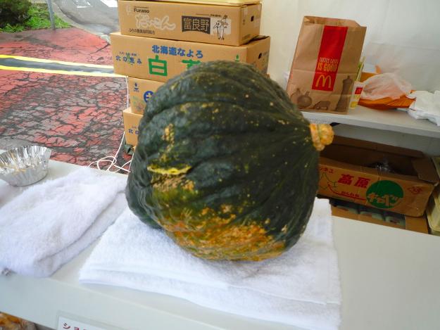 硬すぎるカボチャを有効活用! 「まさかり岩男かぼちゃのぷりん」