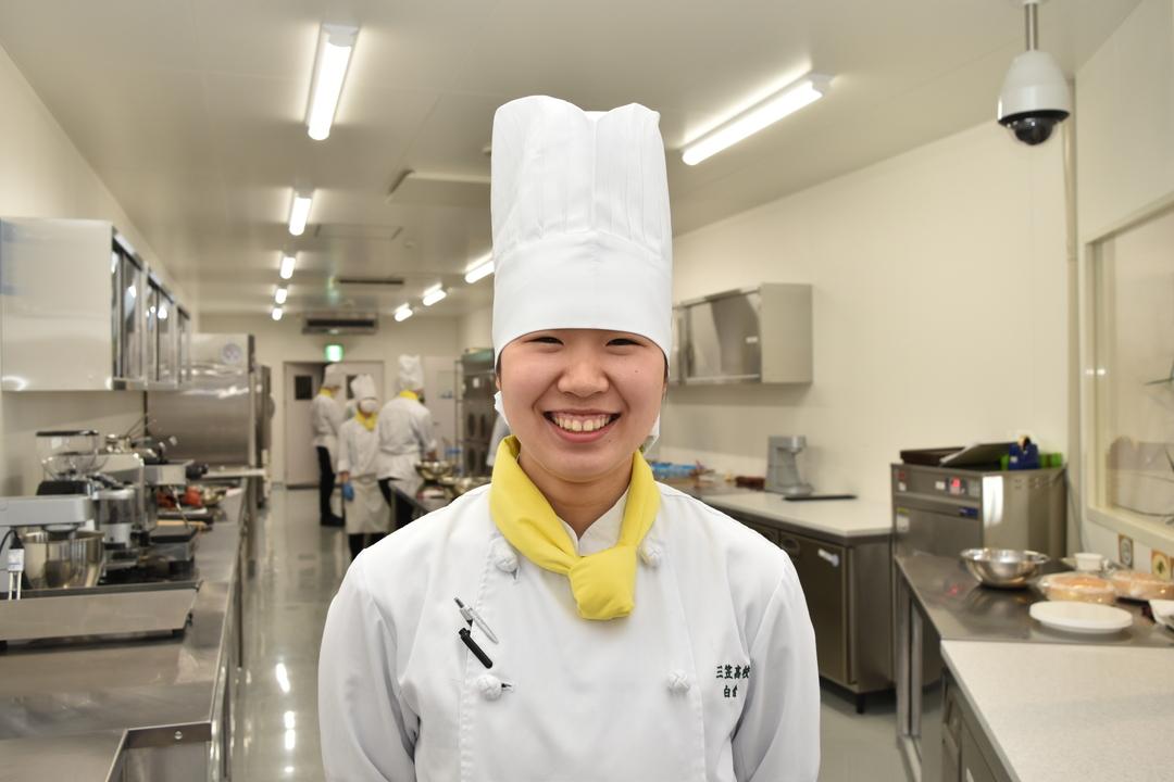 学びの成果をここで発揮!生徒が運営「三笠高校生レストラン・エソール」