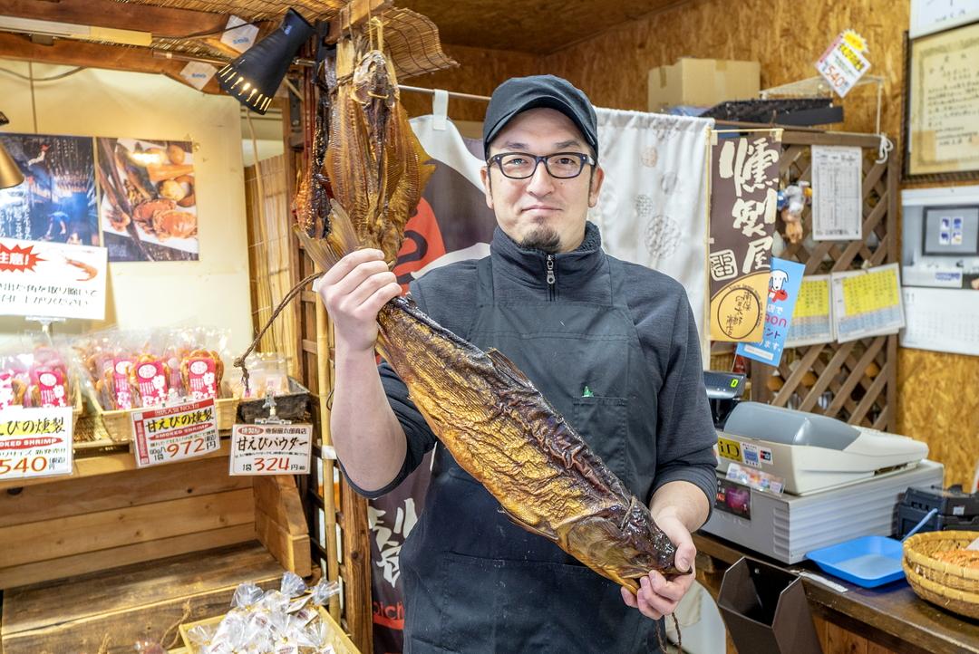 """珍しい""""冷燻""""を守り続けて70年―余市町「燻製屋 南保留太郎商店」"""